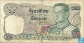 Thailand 20 Baht 1981 (P88a13)