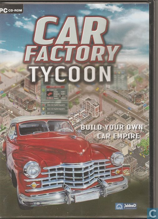 Car Factory Tycoon Games