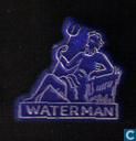 Waterman [goud op blauw]