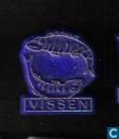 Vissen [or sur bleu]