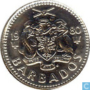 Barbados 10 cents 1980 (PROOF)