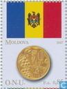 Fahnen und Münzen