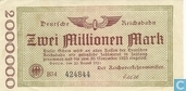 Berlin 2 Miljoen Mark 1923