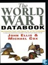 The World War I databook
