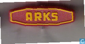 Arks [geel op rood]