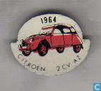 1964 Citroën 2CV AZ [rood]
