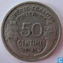Frankrijk 50 centimes 1941 (aluminium)