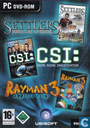 The Settlers: Heritage of Kings + CSI: Crime Scene Investigation + Rayman 3