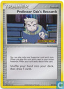 Professor Oak's Research