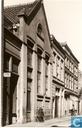 Steenstraat gebouw van de eerste Chr.School
