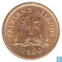 Falkland Islands 1 penny 1980
