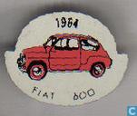 1964 Fiat 600 [rouge]