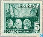 Journée du timbre et cent. FFCC espagnols