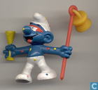 Carnival Smurf (orange stick)
