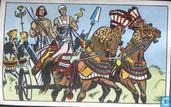 De Egyptische strijdwagens