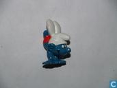 Handstand Smurf