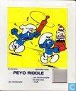 Peyo Riddle - die Schlümpfe Les Schtroumpfs De Smurfen I Puffi