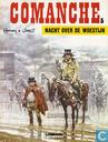 Strips - Comanche - Nacht over de woestijn