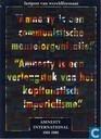 Amnesty International 1961 - 1986 Lastpost van wereldformaat