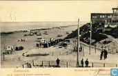 Zandvoort, Strand met Hotel d'Orange