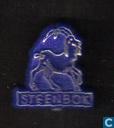 Steenbok [or sur bleu]