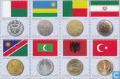 2008 Les drapeaux et des pièces (VNG 237)