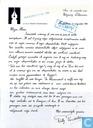 Brief van Willy Vandersteen aan Lekturama