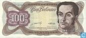 Venezuela 100 Bolívares 1989
