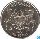 Botswana 50 thebe 1977