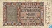 Berlin, Stadt 1000 Mark 10.11.1922