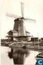 Molen de Windhond a.d. Noordendijk omstreeks