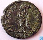Romeinse Keizerrijk Ticinum AE3 Kleinfollis van Keizerin Fausta 326 n.Chr.