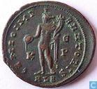 Romeinse Keizerrijk, AE Follis, 305-3011 AD, Galerius, Alexandria, 308-310 AD