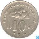 Maleisië 10 sen 1997
