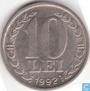 "Romania 10 lei 1992 ""Revolution Anniversary"""