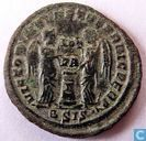 Roman Empire Siscia AE3 Kleinfollis of Emperor Constantine the Great 318-319 AD.