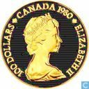 Canada 100 dollars 1980