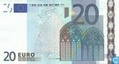 Zone Euro 20 Euro G-G-T