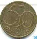 Autriche 50 groschen 1980
