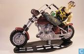 Harley Davidson motorcycle tin Man