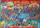 boxing match. nieuwzeelandse puzzel