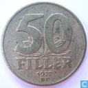 Hungary 50 fillér 1977