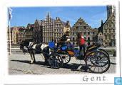 Gent - De Graslei - Le Quai aux Herbes - Der Gewürzquai - The Graslei
