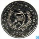 Guatemala 25 centavos 2000