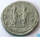 Roman Empire AD 258-260 Antoninianus of Empress Salonina.