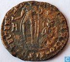 Römisches Kaiserreich Siscia AE2 Centionalis des Kaisers Constans 348-350 n. Chr.Chr.