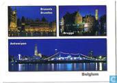 Brussels Bruxelles Brugge Antwerpen