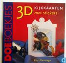 3D kijkkaarten met stickers
