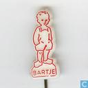 Bartje [rouge sur blanc]