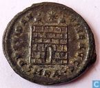 Kleinfollis AE3 Cyzicus Roman Empire of Emperor Constantine the Great 325-326 AD.